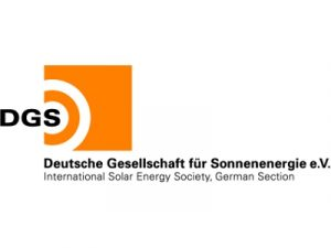 Logo der Deutschen Gesellschaft für Sonnenenergie