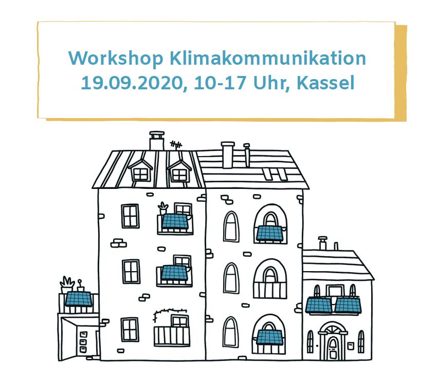 Klimakommunikationsworkshop, 19.09.2020, 10-17 Uhr