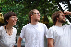 Kerstin, Arvid und Benedikt von SoLocal Energy