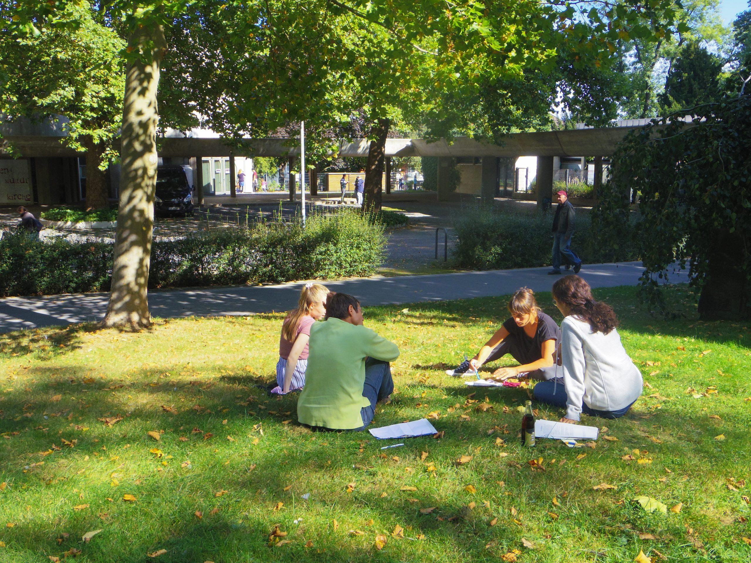Austausch im Nachbarschaftskreis Klimawende