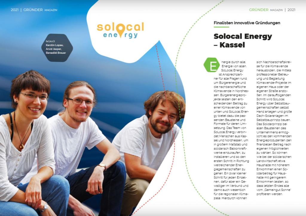 SoLocal Energy Finalist promotion Nordhessen