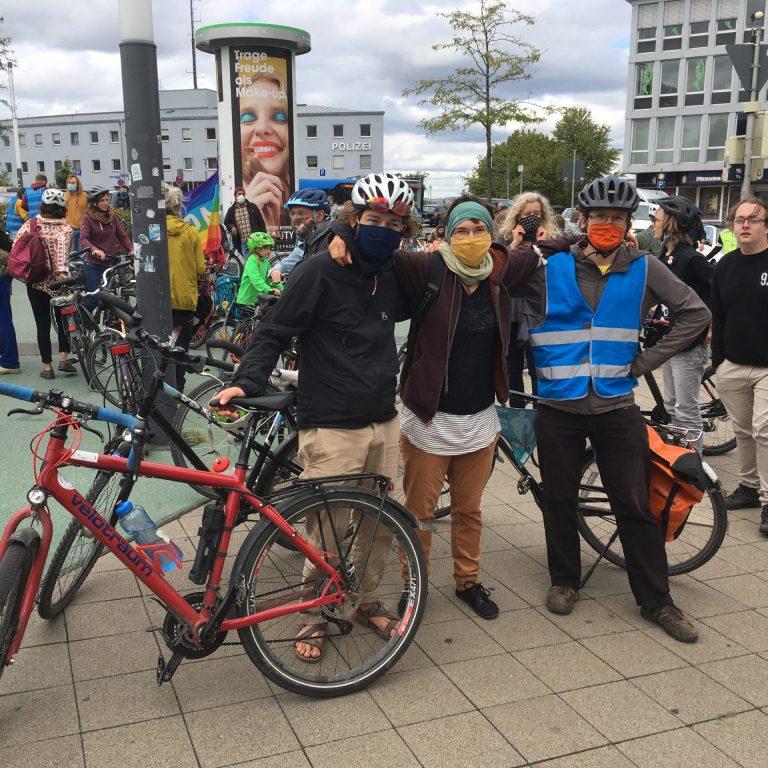Das SoLocal Energy-Team auf dem Global Climate Strike