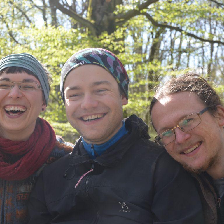 Team-Ausflug in den Habichtswald