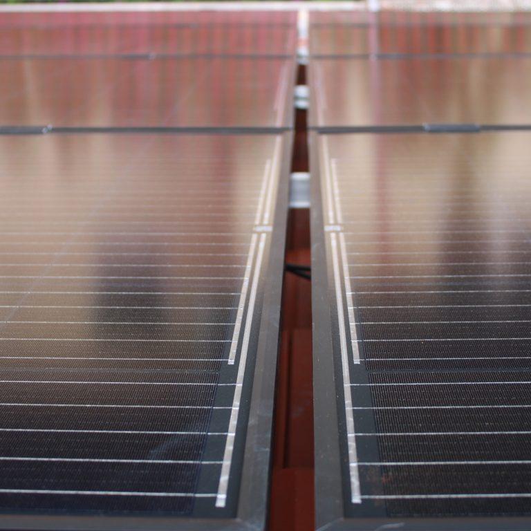 Neue Solarmodule, noch ganz frisch!